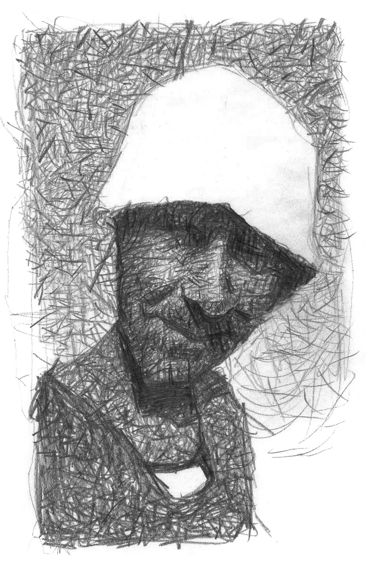 MAN WITH HAT by sebastianmartino