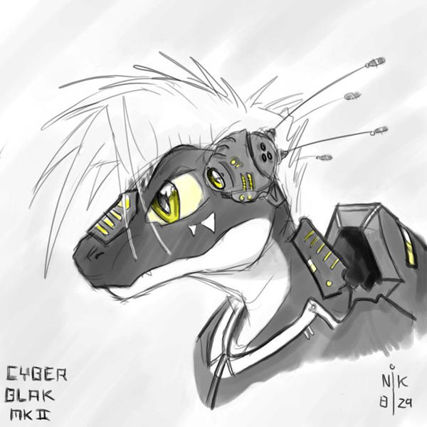 Remake of a familiar face by Blak-Dragon-Boy