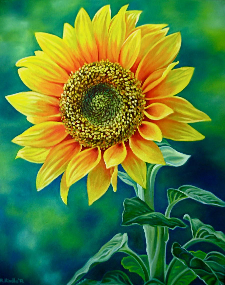 Sunflower by TernFeather on DeviantArt