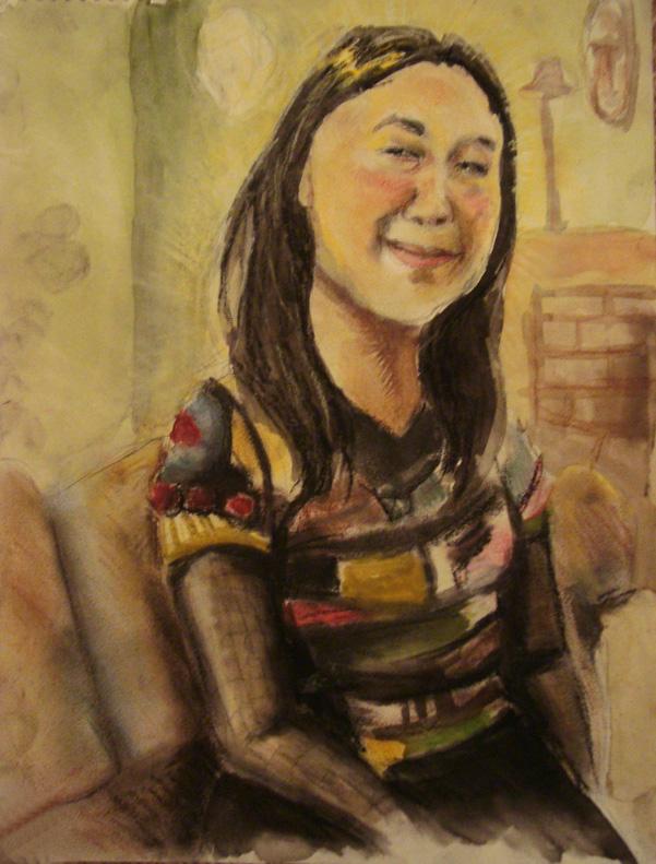 Innah Portrait by wikkedvenus