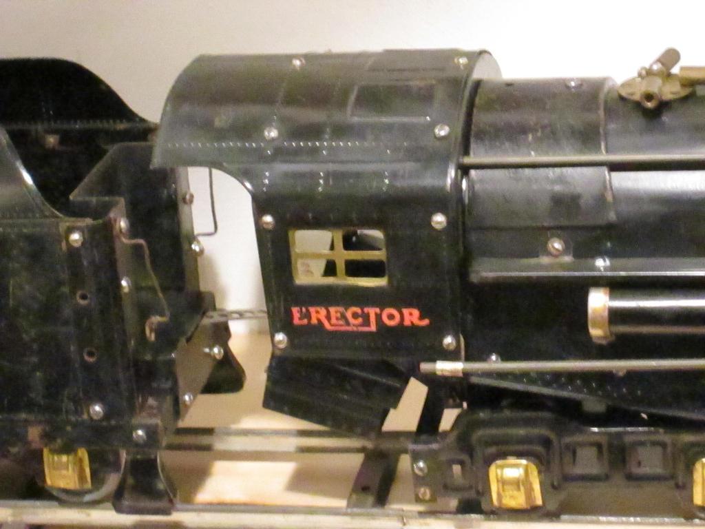Erector Set Steam Engine Cab by hoestler