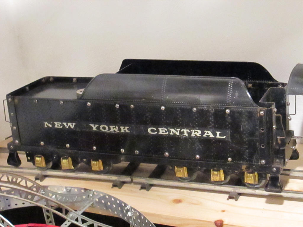 Erector locomotive tender. by hoestler