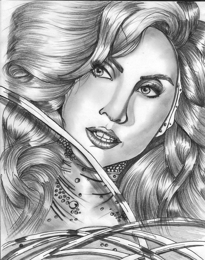 Lady Gaga by leocolorado