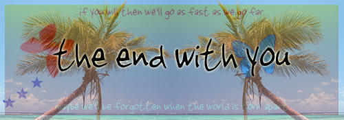 The End With You