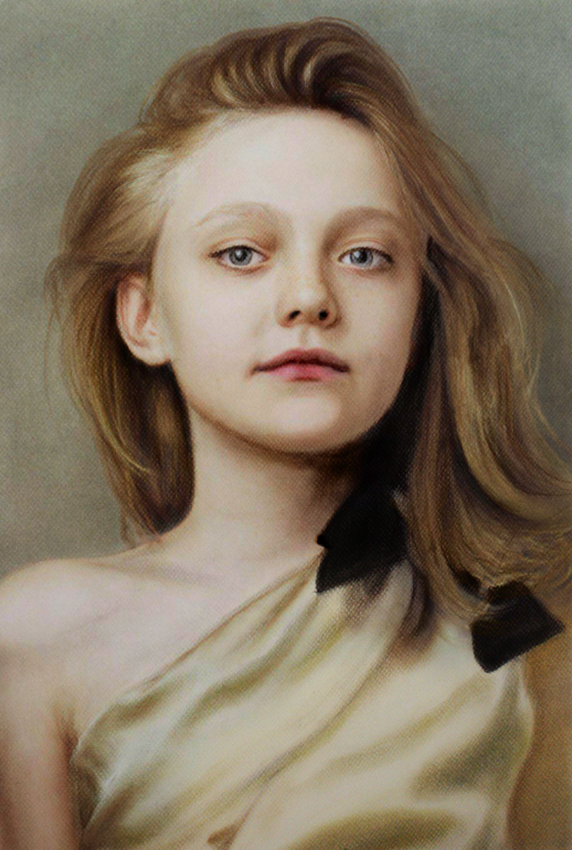 Dakota Fanning by MPaolillo
