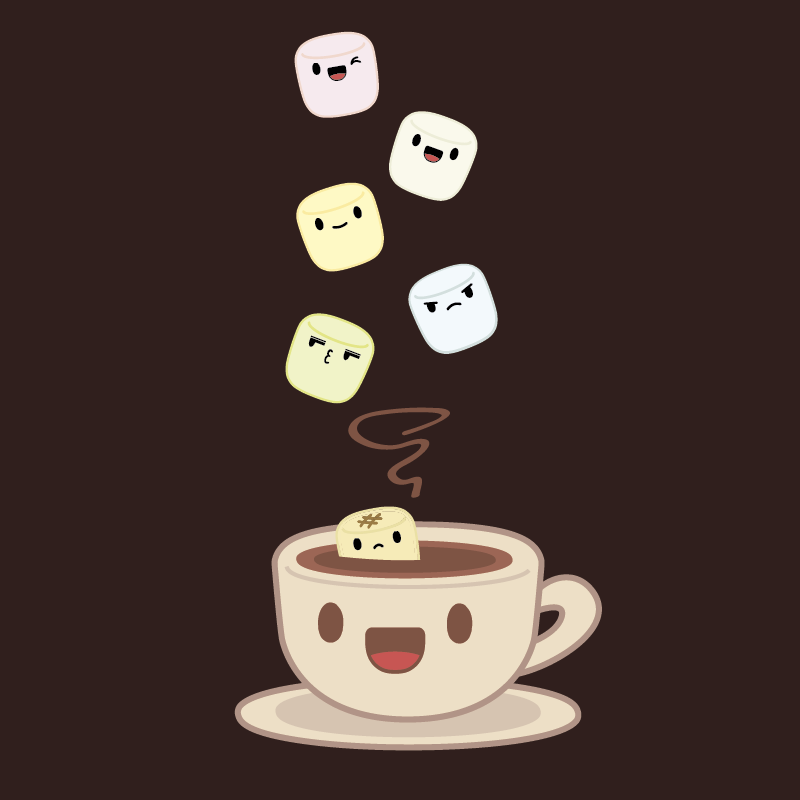 Marshmallow Wallpaper: Hot Chocolate And Marshmallows By MPaolillo On DeviantArt