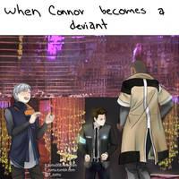 When Connor Becomes A Deviant