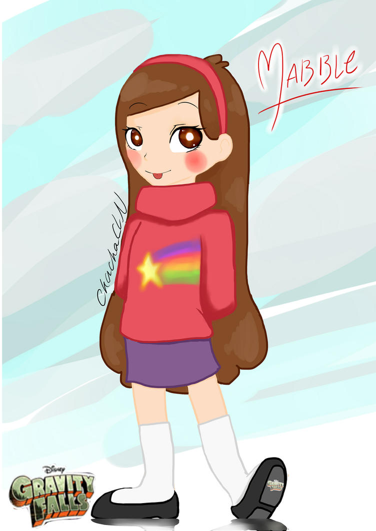 how to draw mabel from gravity falls