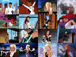 DCAU collage - Superman Tas