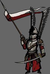 Winged Hussar Darkest Dungeon