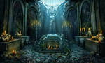 Crypt scene by Tai-atari