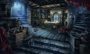Worship Cellar scene
