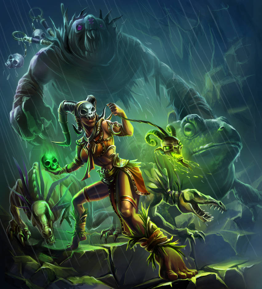 Witch Doctor Summons!