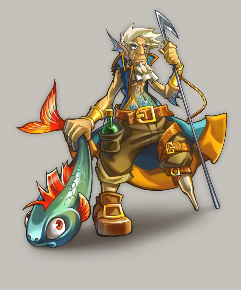 Fishman by Tai-atari
