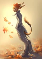 Satyr girl by Tai-atari