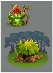 Game character by Tai-atari