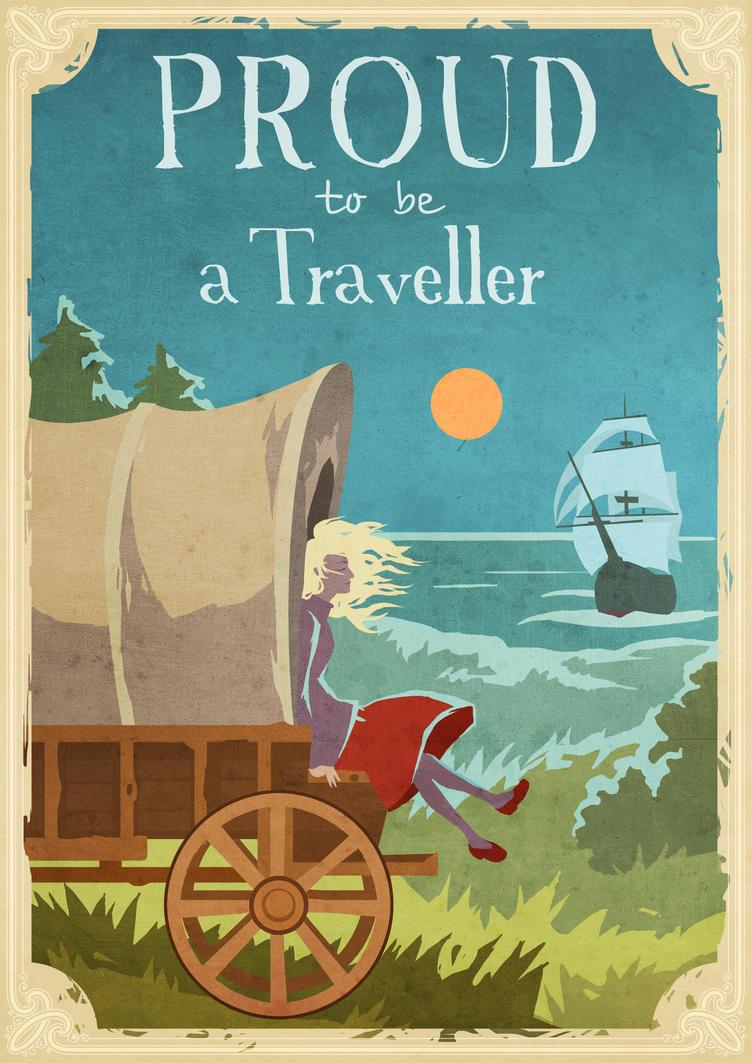 Proud to be a Traveler by Tai-atari