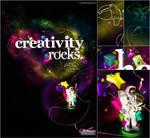 Creativity Rocks by vinyss
