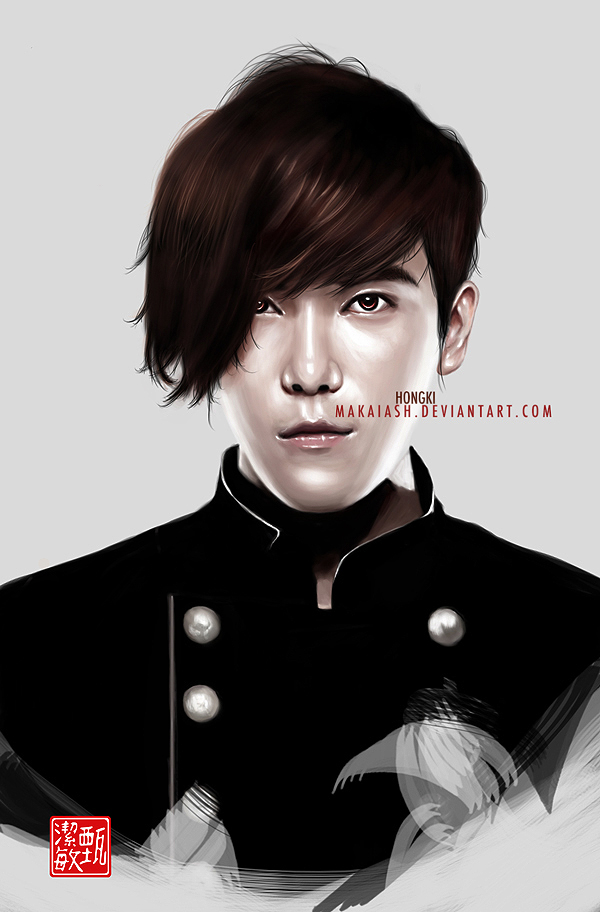 Lee Hongki - Drawing :For Sakura: by MakaiAsh