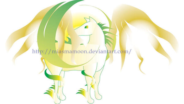 Wind Horse by MiasmaMoon