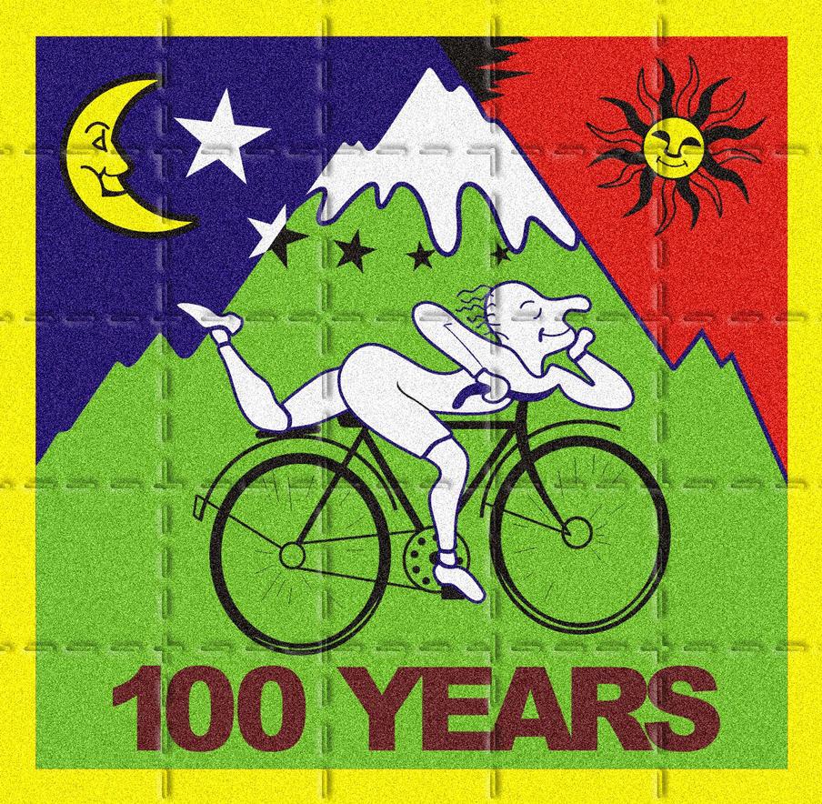 Bike 100 Years - LSD by coringabr
