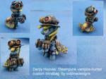 MLP FiM custom: Derpy the Steampunk Vampire Hunter