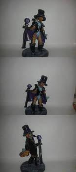 Furry / anthro sculpt: Magician Fox!