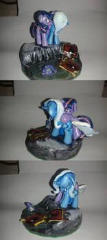 MLP FiM blindbag diorama: Trixie's Remorse