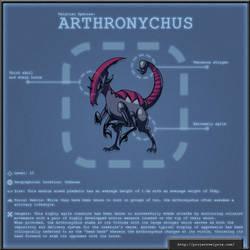 Monster Log - The Arthronychus by AndrewDavidJ