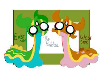 East and West Side by HiddenTabby
