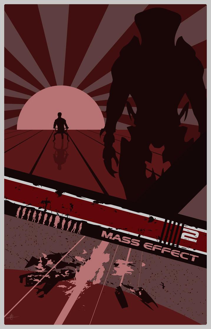 Mass Effect 2 Poster by Fire1138