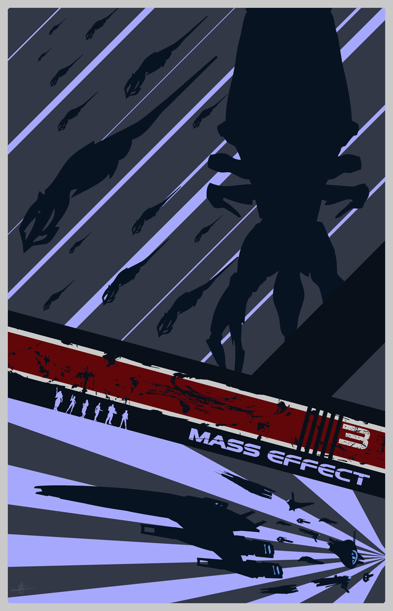 Mass Effect 3 Poster by Fire1138