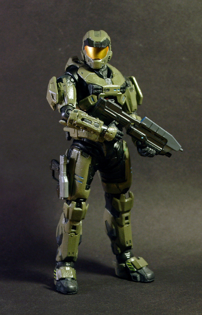 Custom master chief figure halo reach by fire1138 on - Master chief in halo reach ...