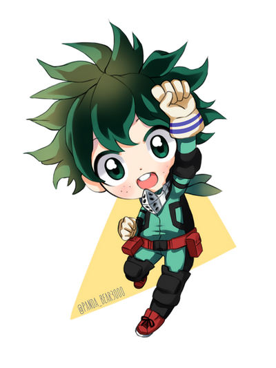 Chibi Deku One For All By Pandabear3000 On Deviantart