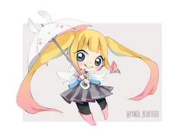 Chibi Hoshi- OC by PandaBear3000