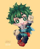 Chibi Deku by PandaBear3000