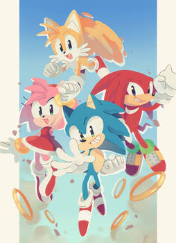 Happy 29th Birthday, Sonic!