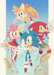 Happy 29th Birthday, Sonic!