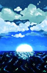 deep, blue sea by itsmeizumine