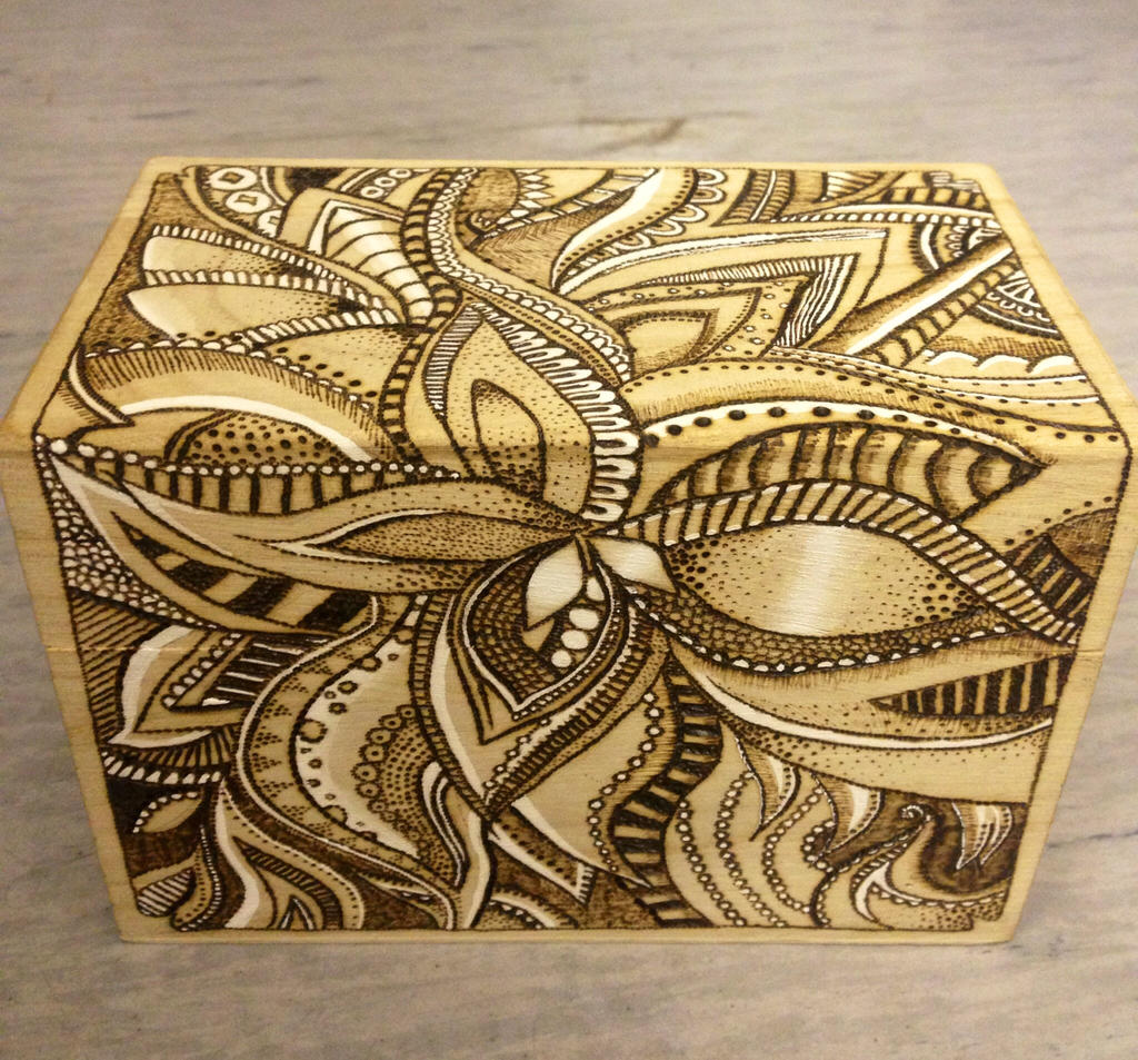 Abstract Wood Burning By Gottahaveacatchyname On Deviantart