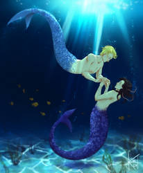 YCH  : Merm-ification#9 - Andrew and Sacha