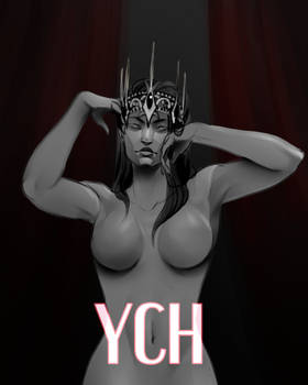 [OPEN] YCH : Crown [Auction]