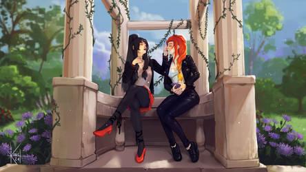 St Valentin event - Alyana et Persephone