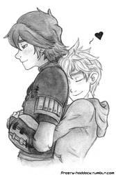 Hijack hug by Laven96