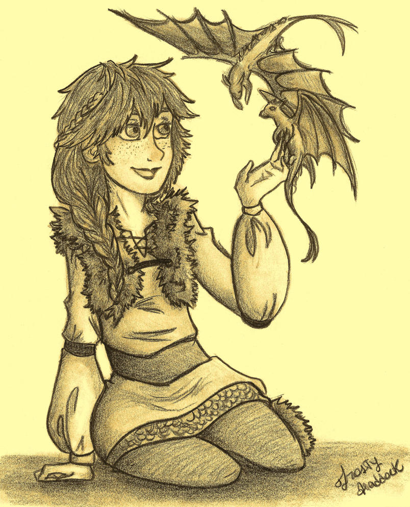 Hiccup Genderswap 2 by Laven96