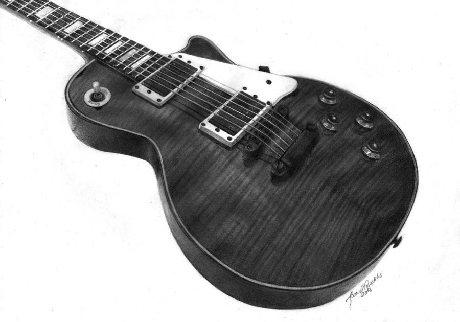 Guitar Les Paul by Joan95