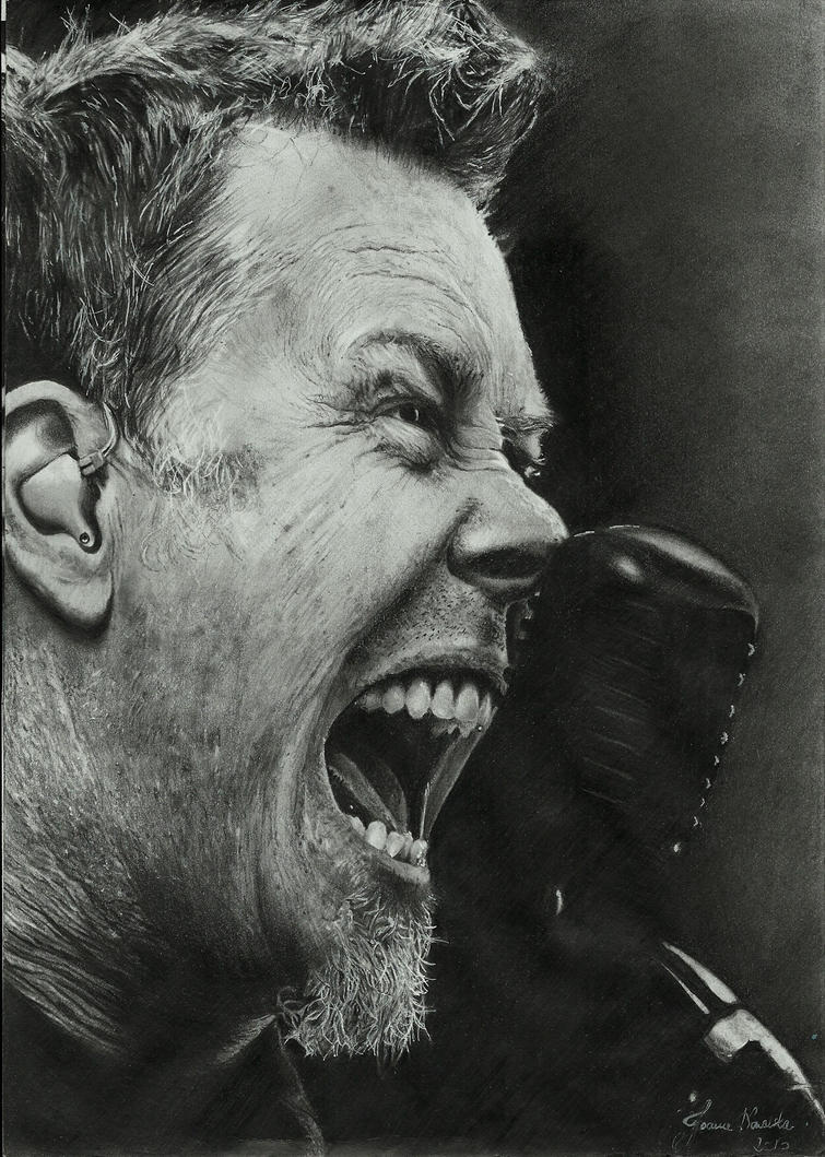 James Hetfield by Joan95