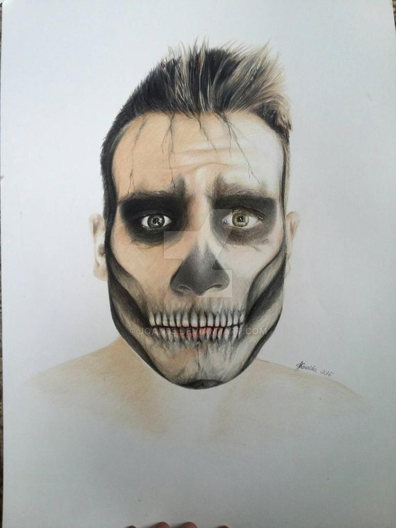skull portrait by Joan95