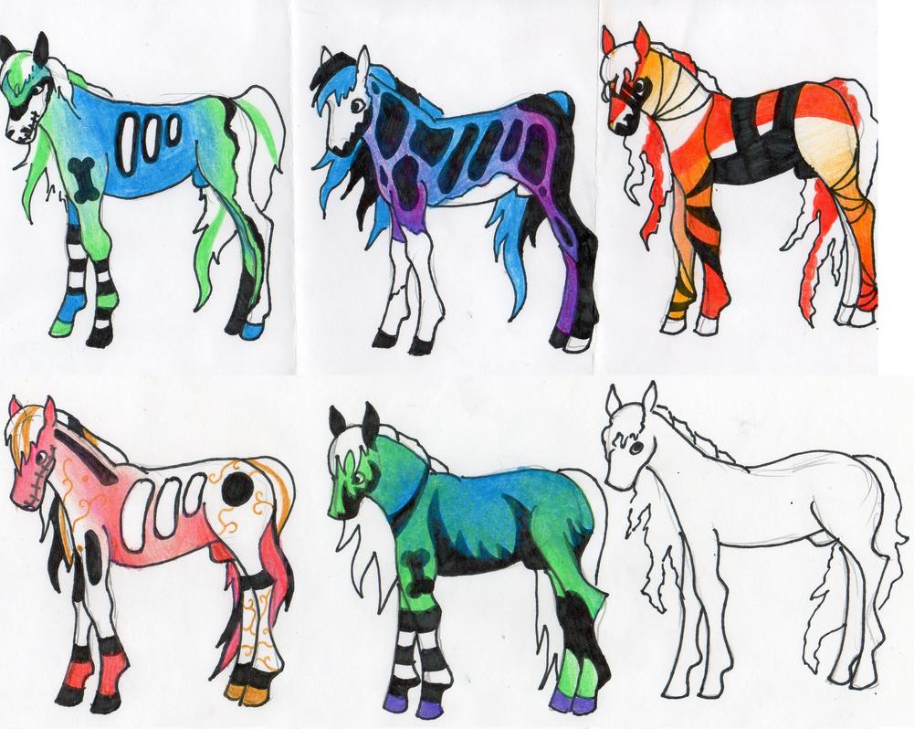 Foals! by SierraSweet