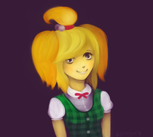 Human!Isabelle
